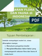 Sebaran Flora Dan Fauna Indonesia