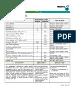 Diesel Euro 2M - Specification