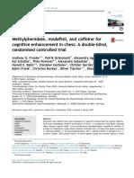 Franke Et Al. - Methylphenidate, Modafinil, Caffeine, Chess