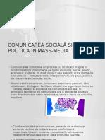 Comunicarea Socială Si Politica in Mass-media