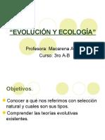 TEORIA EVOLUCIONISTAS