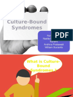 Culture Bound Syndrome