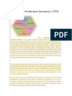 Vocational Preference Inventory
