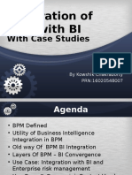 Bi Integration Into Bpm Bpm