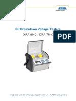 Manual DPA 75