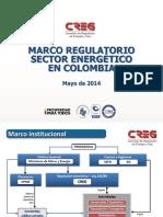 Marco Regulatorio Sector Energia 2014 Colombia