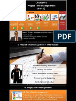 PMP Ch 6-1 ( Time Management )