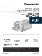 Panasonic Camcorder HC-V700M