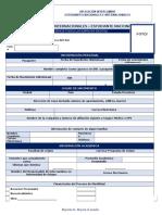 2017 Formulario Aplicacion Intercambio Estudiante Nacional
