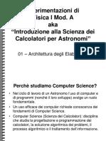 01 - Architettura Dei Computer