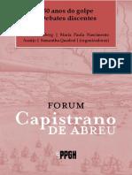 50 anos do golpe Debates discentes - Lúcia Grinberg  Maria Paula Nascimento Araújo  Samantha Quadrat  (organizadoras)