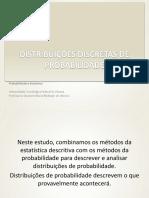 Distribuições Discretas de Probabilidadequestão 16