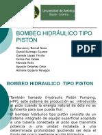Bombeo Hidraulico TIPO PISTON