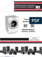 Whpl Duet GHW9100L Washer Service Manual