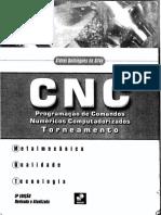 Cnc - Programação de Comandos Numéricos Computadorizados - Torneamento, Silva, Sidnei Domingues Da