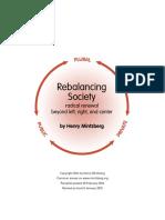 Rebalancing Society Pamphlet
