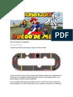 Manual Juego de Mesa Mario Kart