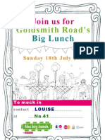 Big Lunch Posters