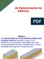 ANTICISMICAS TEMA CRITERIOS DE ESTRUTURACION DE EDIFICIOS