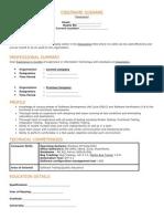 Designation] Exp