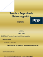 CNT07 - Teoria e Engenharia Eletromagnetica 20161015