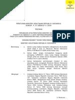 P.37 Thn 2009 KSO Pada HT Dan Hutan Kayu