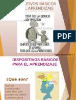 DISPOSITIVOS BASICOS APRENDIZAJE