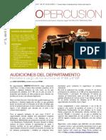 Revista VientoPercusión Nº 5 Abril 2017