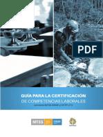 Manual Del Candidato Proceso de Certificación de Competencias
