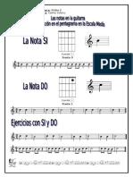 Guitarra 2 - Nota Si