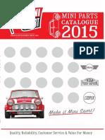 Catalogue de peças mini cooper sport