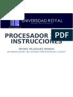 Procesador x86 e Instrucciones