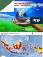 Kemdagri Implementasi UU 23 Tahun 2014 Dan Pengarusutamaan PRB