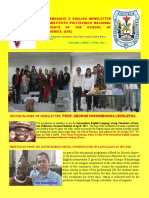BOLETIN DE LOS ESTUDIANTES DE ENGLISH INTERMEDIATE II, IPN, ESE.MEXICO.ISSUE