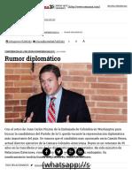 Rumor Diplomático