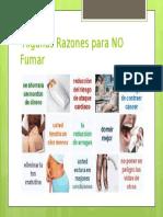 Algunas Razones para NO Fumar.pptx