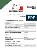 Ficha de Inscripcion Practicante 2017
