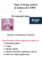Drugs Used in Bronchial Asthma & COPD