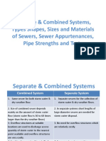 Sewers Types