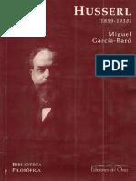 García-Baró, Miguel - Husserl (1859-1938).pdf