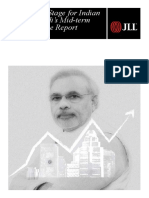 Setting the Stage for Indian Realty - Modi's Mid-term Performance Report