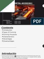 Forming (Metal-Working) Presentation