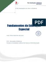 Fundamentos Da Educacao Especial