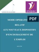 Mode Opératoire ANAPEC v3