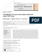 Khaled Soudki, Ahamed K EL Sayed, Tim Vanzwol, P 2011, 'Strengthening of Concrete Slab-column Connections Using CFRP Strips', Journal of King Saud University- Engineering Science, Vol 24, Issue 1, Pp 25-33