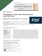 Khaled Soudki, Ahamed K EL Sayed, Tim Vanzwol, P 2011, 'Strengthening of Concrete Slab-column Connections Using CFRP Strips', Journal of King Saud University- Engineering Science, Vol 24, Issue 1, Pp 25-33