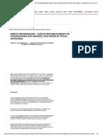 Direito Previdenciário - Ação de Restabelecimento de Aposentadoria Por Invalidez, Com Pedido de Tutela Antecipada - Domtotal
