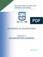 Unidad 6 - Excavación de Cavernas