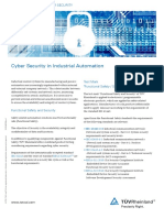 Tuev Rheinland Cyber Security en 2015