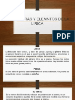 Etructuras y Elemntos de La Lirica